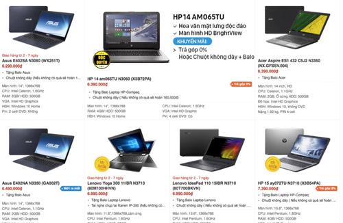 Giá chạm đáy, hàng loạt laptop cũ bán chỉ hơn 1 triệu đồng - 1