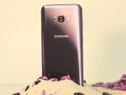Dế sắp ra lò - Bị bỏ bùa trước vẻ đẹp của Samsung Galaxy S8+ màu tím khói