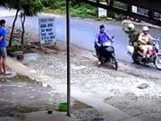 Tin tức trong ngày - Clip CSGT Lạng Sơn truy đuổi tên trộm xe máy như phim