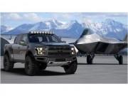 Siêu bán tải Ford F-150 mang phong cách chiến đấu cơ F-22 Raptor