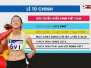 Hot girl điền kinh Tú Chinh vô địch châu Á, sá gì SEA Games
