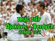 Chi tiết Djokovic - Berdych: Kết cục bất ngờ (Tứ kết Wimbledon) (KT)