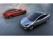 Hình ảnh đầu tiên về Tesla Model 3 bản hoàn thiện