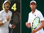 Murray - Querrey: Màn ngược dòng 5 set xuất sắc (Tứ kết Wimbledon)