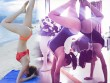 Mặc nội y, bikini tập yoga, mỹ nữ Vbiz gợi cảm gấp bội phần