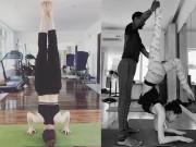 """Làm đẹp - Thì ra Hà Hồ mặt đẹp dáng chuẩn là nhờ tư thế tập yoga """"bá đạo"""" cỡ này"""