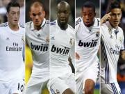 """Real  & amp;  """" lời nguyền """"  số 10: James, Ozil và các nạn nhân"""