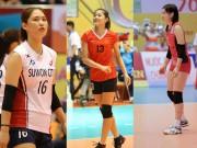 Hoa khôi bóng chuyền VTV Cup: Kiều nữ Hàn Quốc, hot girl 15 tuổi nổi bật