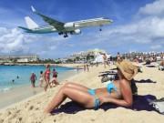 """Thế giới - Máy bay """"quật"""" chết du khách đứng xem ở bãi biển Caribe"""