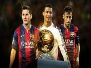 """Bóng đá - Đua Quả bóng vàng: Neymar """"mưu đồ"""" phá đế chế Ronaldo - Messi"""