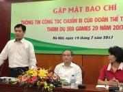Đoàn Thể thao Việt Nam chỉ còn 2 phó đoàn dự SEA Games 29