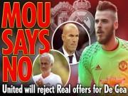 Bóng đá - Real quyết mua De Gea 60 triệu bảng: Mourinho thể hiện quyền uy