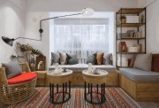 Tài chính - Bất động sản - Cặp vợ chồng tự biến nhà nhỏ chật chội thành căn hộ đẹp miễn chê