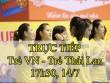 TRỰC TIẾP ĐT trẻ Việt Nam - ĐT trẻ Thái Lan: Nhập cuộc hứng khởi