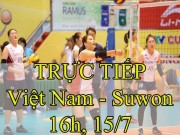 """Chi tiết ĐT Việt Nam - Suwon Hàn Quốc: Kết cục  """" thót tim """"  (KT)"""