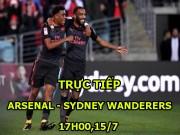 Chi tiết Arsenal - Sydney Wanderers: Liên tiếp xà ngang, cột dọc (KT)