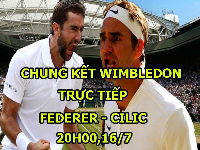 """Chi tiết Federer - Cilic: """"Tàu tốc hành"""" vẫn là số 1 (Chung kết Wimbledon)"""