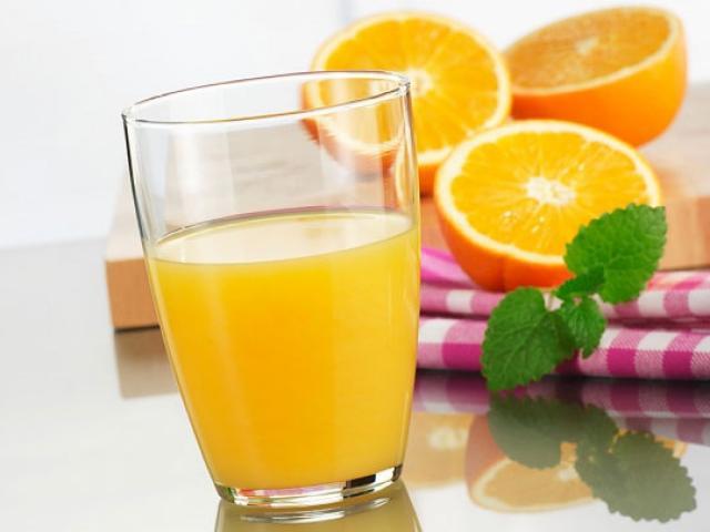 Những người tuyệt đối không nên uống nước cam