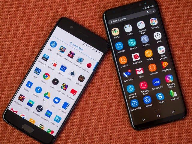 """OnePlus 5 so kè cùng """"người khổng lồ"""" Galaxy S8+"""