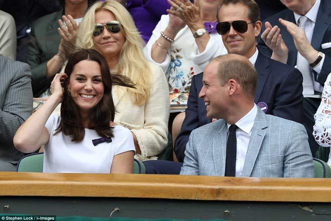 Wimbledon: Hoàng gia Anh và dàn VIP khủng xem Federer - Cilic - 1