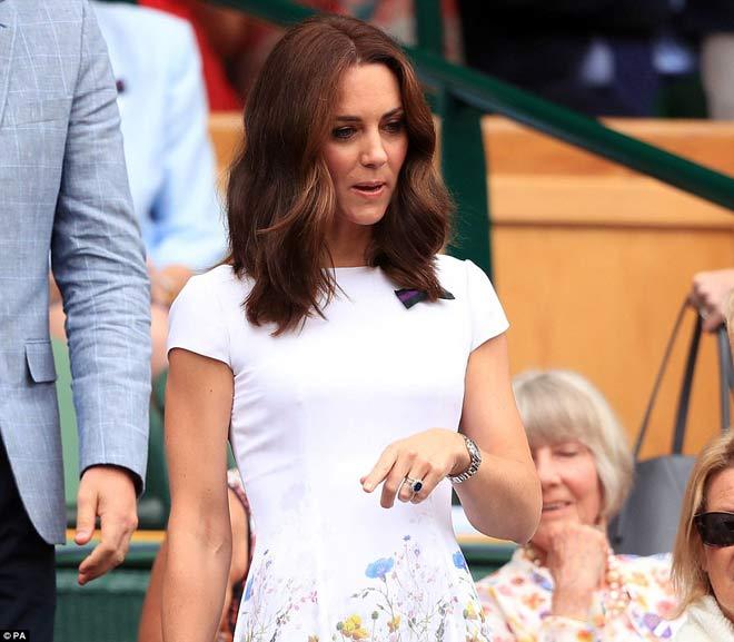 Wimbledon: Hoàng gia Anh và dàn VIP khủng xem Federer - Cilic - 2