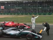 """Thể thao - Đua xe F1, phân hạng British GP: """"Viên ngọc trai đen"""" che mờ tất cả"""