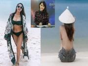 Thời trang - Biên tập viên Trúc Mai bán nude với bikini sau khi rời VTV