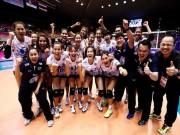 Chấn động bóng chuyền nữ: Thái Lan hạ Brazil