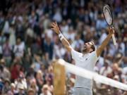 Clip hot Wimbledon: Federer quá hay, Cilic cáu giận đập vợt