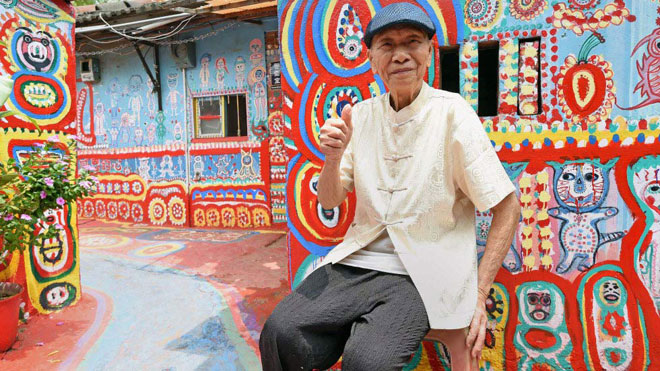 Ở Đài Loan có một ngôi làng cầu vồng mà bạn phải đến ít nhất một lần trong đời - ảnh 2