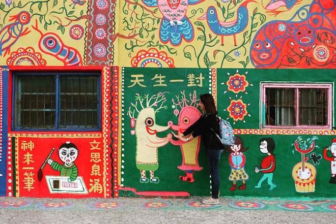 Ở Đài Loan có một ngôi làng cầu vồng mà bạn phải đến ít nhất một lần trong đời - ảnh 5