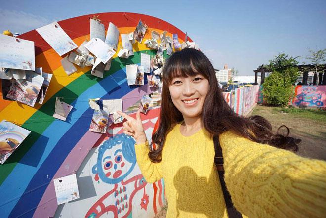 Ở Đài Loan có một ngôi làng cầu vồng mà bạn phải đến ít nhất một lần trong đời - ảnh 13