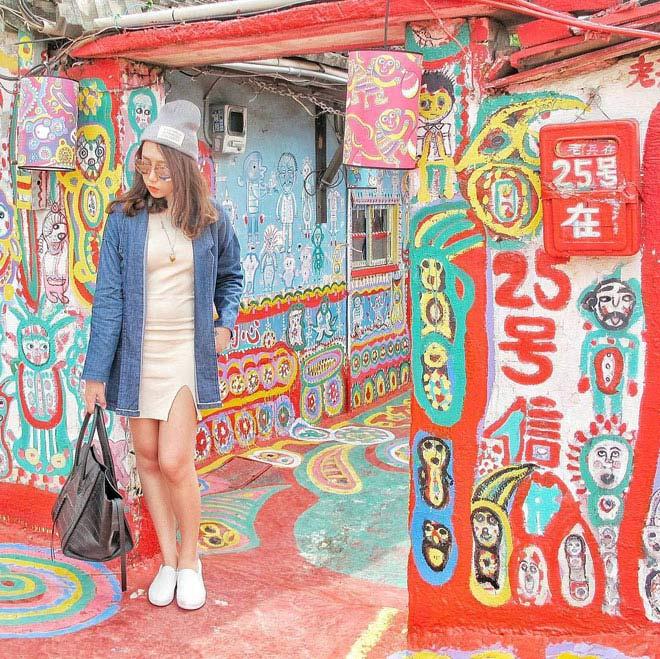 Ở Đài Loan có một ngôi làng cầu vồng mà bạn phải đến ít nhất một lần trong đời - ảnh 14