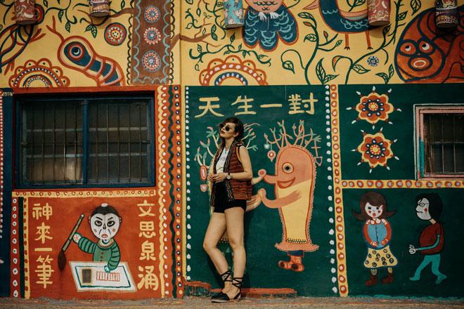 Ở Đài Loan có một ngôi làng cầu vồng mà bạn phải đến ít nhất một lần trong đời - ảnh 16