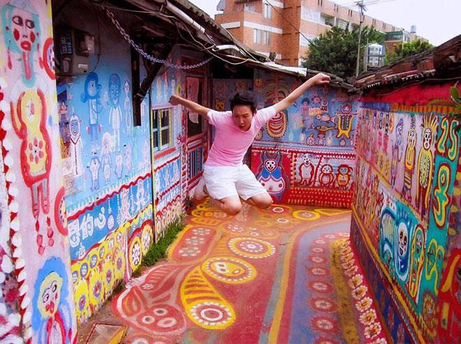 Ở Đài Loan có một ngôi làng cầu vồng mà bạn phải đến ít nhất một lần trong đời - ảnh 8