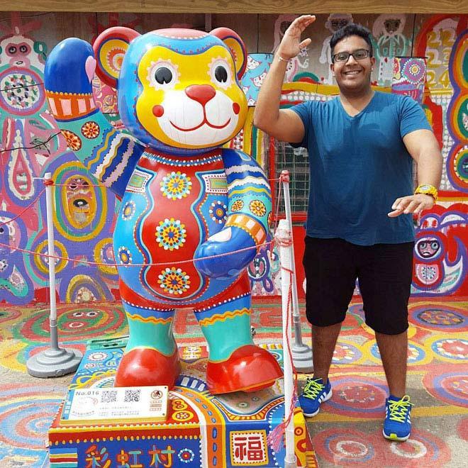 Ở Đài Loan có một ngôi làng cầu vồng mà bạn phải đến ít nhất một lần trong đời - ảnh 9