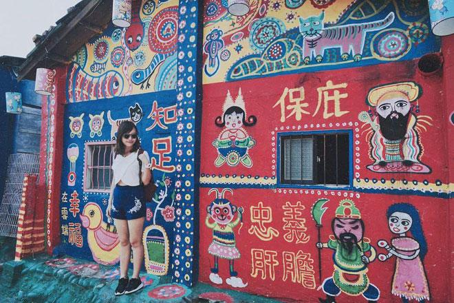 Ở Đài Loan có một ngôi làng cầu vồng mà bạn phải đến ít nhất một lần trong đời - ảnh 10
