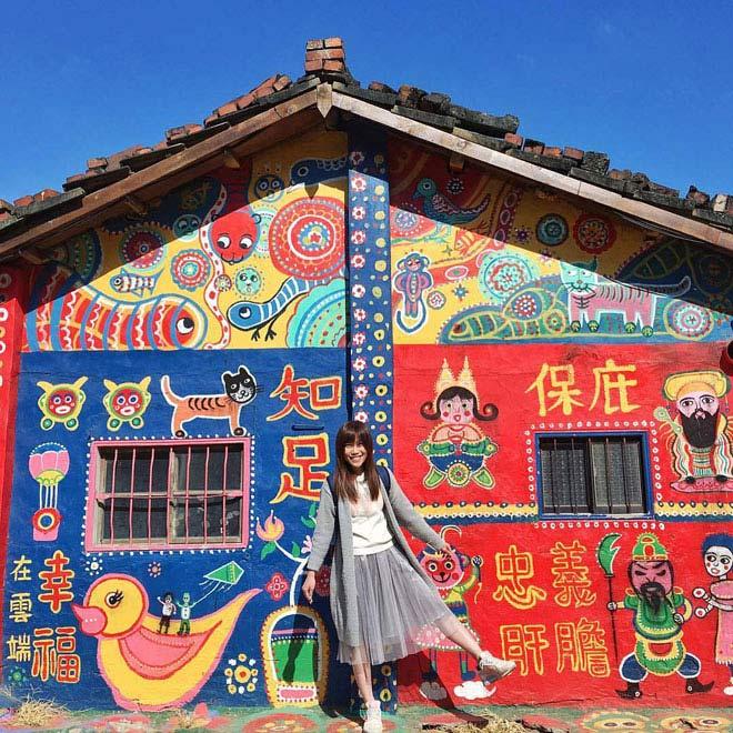Ở Đài Loan có một ngôi làng cầu vồng mà bạn phải đến ít nhất một lần trong đời - ảnh 11