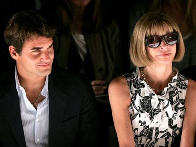 Duyên tình đặc biệt của Roger Federer và nữ hoàng làng thời trang