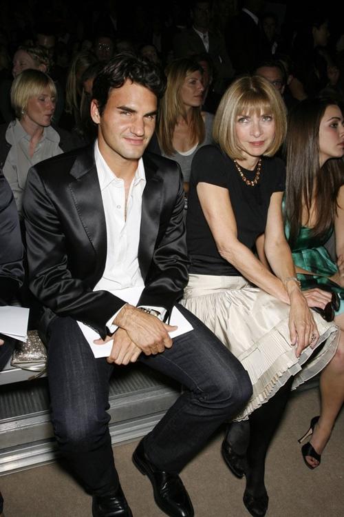Duyên tình đặc biệt của Roger Federer và nữ hoàng làng thời trang - 1
