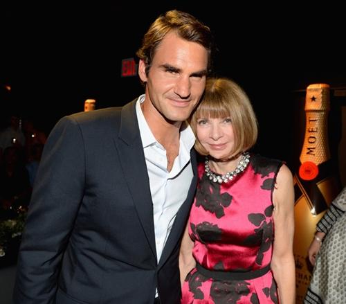 Duyên tình đặc biệt của Roger Federer và nữ hoàng làng thời trang - 2