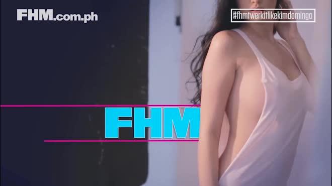 """Chỉ 43 giây, mỹ nữ lai Pháp - Philippines khiến anh em """"điêu đứng"""""""