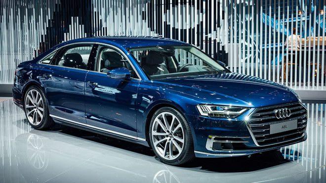 Thiết kế và nội thất tuyệt đẹp của Audi A8 2018 - 2