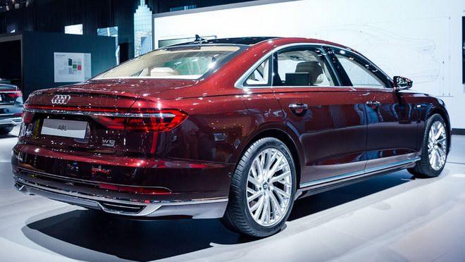 Thiết kế và nội thất tuyệt đẹp của Audi A8 2018 - 3