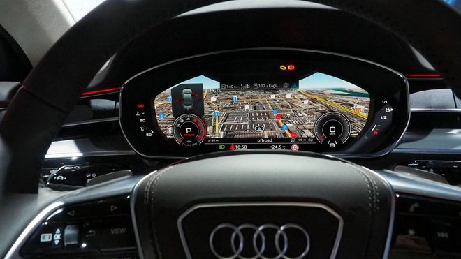 Thiết kế và nội thất tuyệt đẹp của Audi A8 2018 - 6