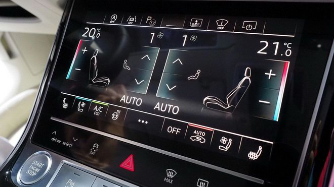 Thiết kế và nội thất tuyệt đẹp của Audi A8 2018 - 7