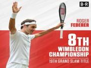"""Thể thao - Federer vô địch Wimbledon: """"Chúa tể thời gian"""", vua Grand Slam"""