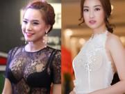 Đỏ mặt vì áo váy trong suốt táo bạo của sao Việt