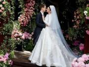 Ảnh cưới lung linh của Miranda Kerr và tỷ phú kém 7 tuổi