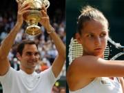 """Thể thao - BXH tennis 17/7: Federer lên số 3, ngạc nhiên với """"nữ hoàng"""" lạ mặt"""